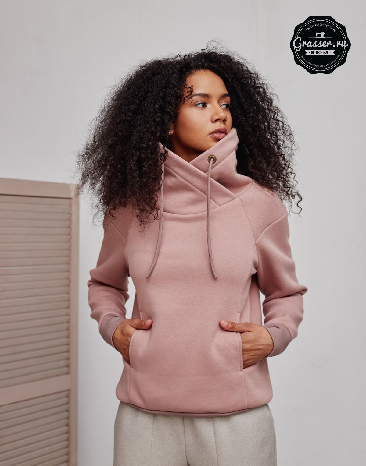 Hoodie and sweatshirt, pattern №735