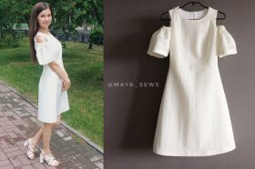 Sewing pattern № 488 dress with Maya Marennikova