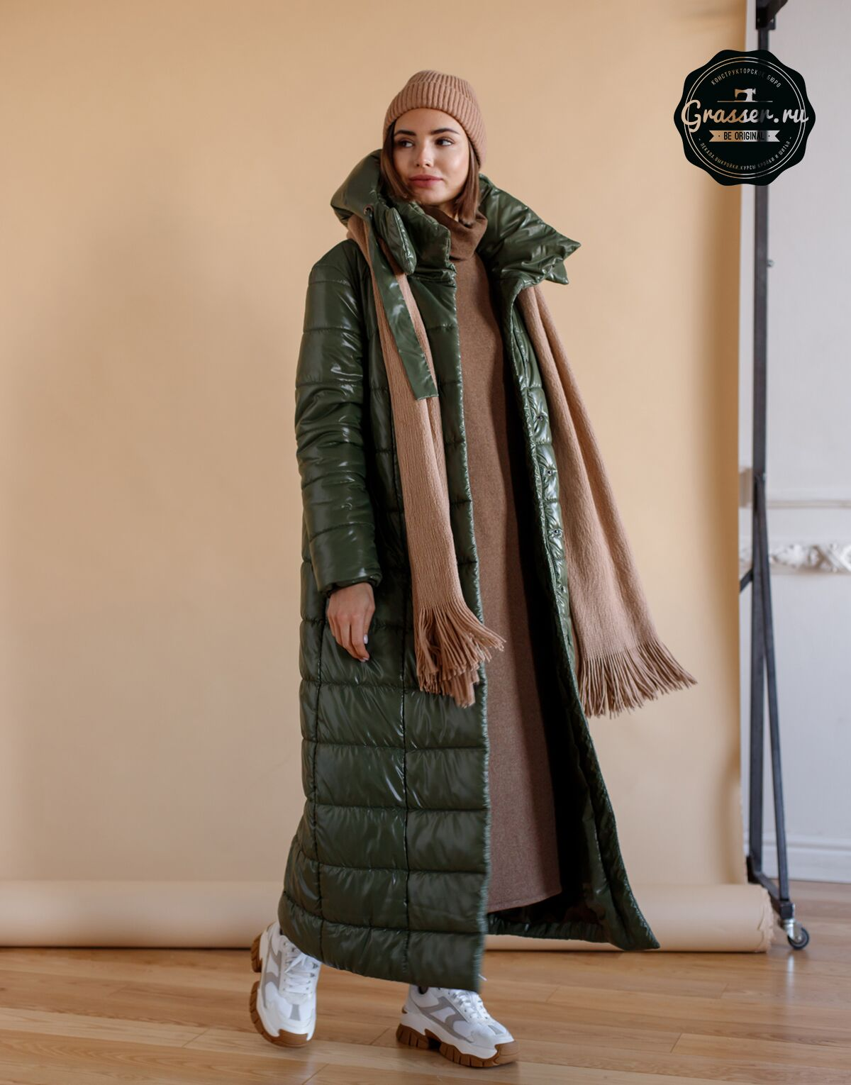 Сoat and jacket with insulation, pattern №713