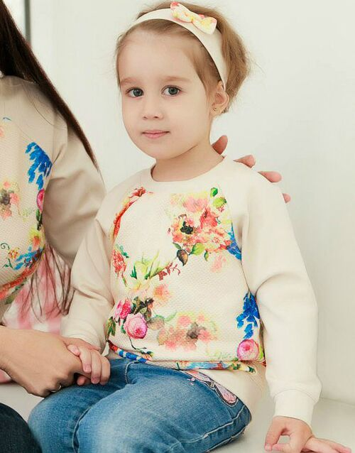 Kid's sweatshirt, pattern №383