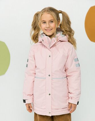 Puffer coat for kids, pattern №796